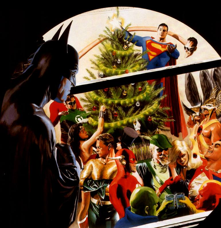 Thanos et les gardiens du pouvoir JLA_Christmas_AlexRoss-734633